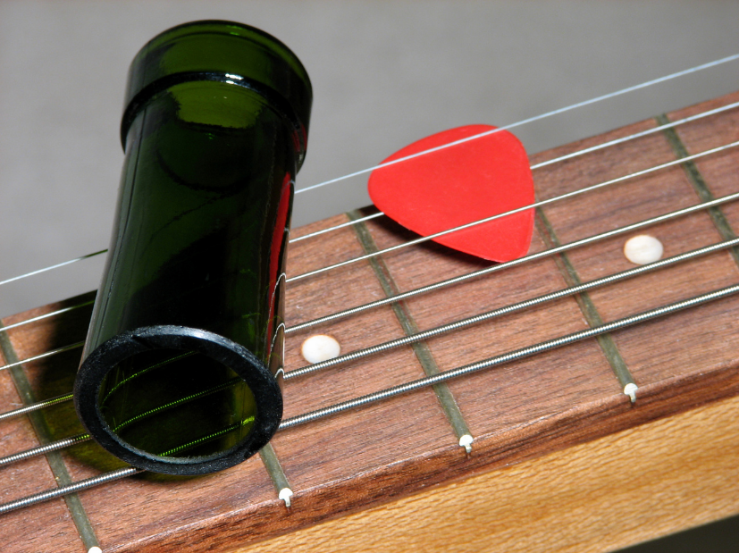 Beginner Slide Guitar in Standard Tuning